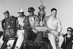 Race winner Junior Johnson