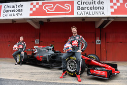 Romain Grosjean, Haas F1 Team, Kevin Magnussen, Haas F1 Team VF-17