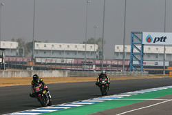 Hafizh Syahrin, Monster Yamaha Tech 3 y Johann Zarco, Monster Yamaha Tech 3