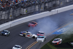 Incidente, Austin Cindric, Roush Fenway Racing Ford Mustang