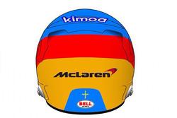 Presentazione del casco di Fernando Alonso