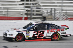 Joey Logano, Team Penske, Discount Tire Ford Mustang