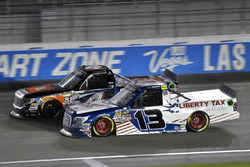 Spencer Davis, Kyle Busch Motorsports, Toyota Tundra JBL/SiriusXM y Myatt Snider, ThorSport Racing, Ford F-150