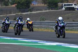AP250: Kanatat Jaiman, Yamaha Thailand Racing Team; M Faerozi dan Richard Taroreh, Yamaha Racing Indonesia