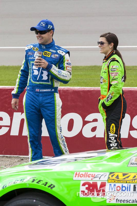 Ricky Stenhouse Jr. e Danica Patrick