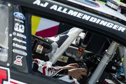Race winner A.J. Allmendinger