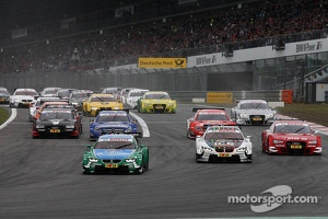 DTM, start of the race