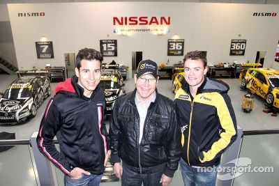 James Moffat bij Nissan Motorsports