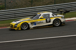 #19 Black Falcon Mercedes SLS AMG GT3: Andrii Lebed, Sergei Afanasiev, Andreas Simonsen, Francesco Castellacci