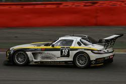 #18 Black Falcon Mercedes SLS AMG GT3: Klaas Hummel, Steve Jans, Adam Christodoulou, Thomas J_§gger