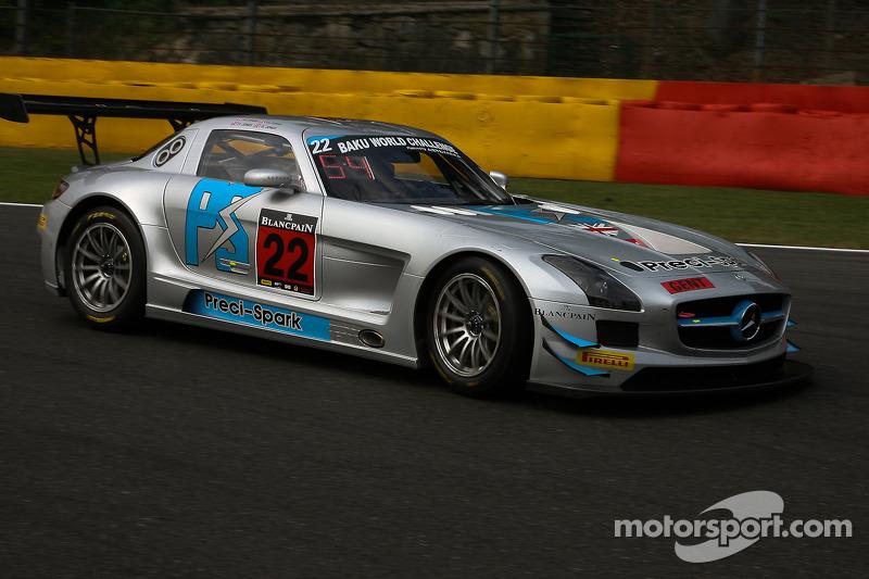#22 Preci-Spark Mercedes SLS AMG GT3: David Jones, Godfrey Jones, Gareth Jones, Philip Jones
