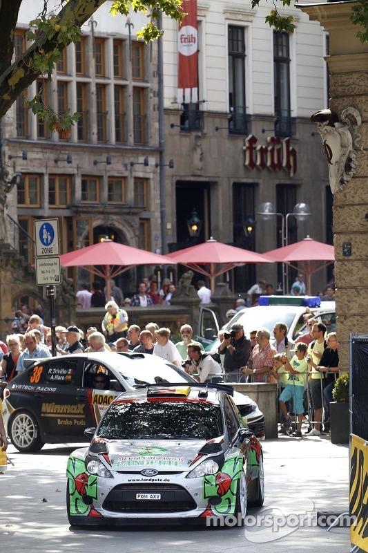 Armin Kremer, Klaus Wicha, Ford Fiesta RRC # 33 Stohl Racing