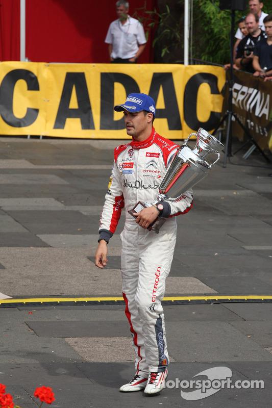 Dani Sordo, Carlos del Barrio, Citroen DS3 WRC nº 3, Citroen Total Abu Dhabi World Rally Team
