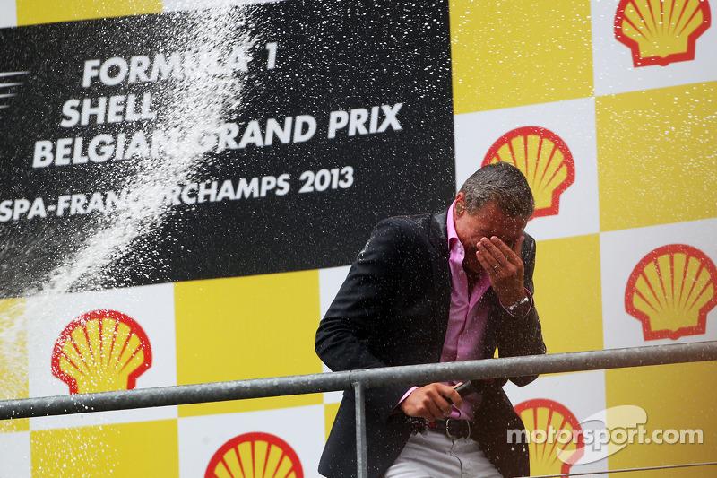 David Coulthard, Red Bull Racing en Scuderia Toro Advisor / BBC-commentator krijgt de volle lading o