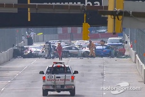 Huge crash at the start