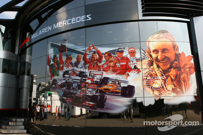 McLaren celebrate 50 years as a constructor
