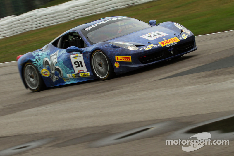 #91 Ferrari of Fort Lauderdale Ferrari 458: Guy LeClerc