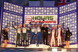 Overall winners Pierre Ragues, Nelson Panciatici, second place Brendon Hartley, Jonathan Hirschi, third place Simon Dolan, Oliver Turvey
