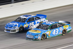 Clint Bowyer and Aric Almirola