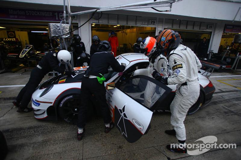 #75 PROSPEED Competition Porsche 911 GT3 RSR: Francois Perrodo, Emmanuel Collard