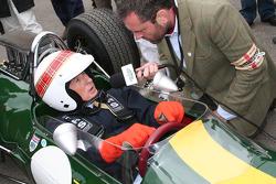 Jim Clark tribute, Jackie Stewart