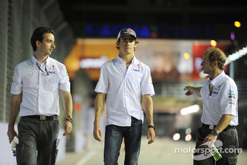 Esteban Gutierrez, Sauber walks the circuit
