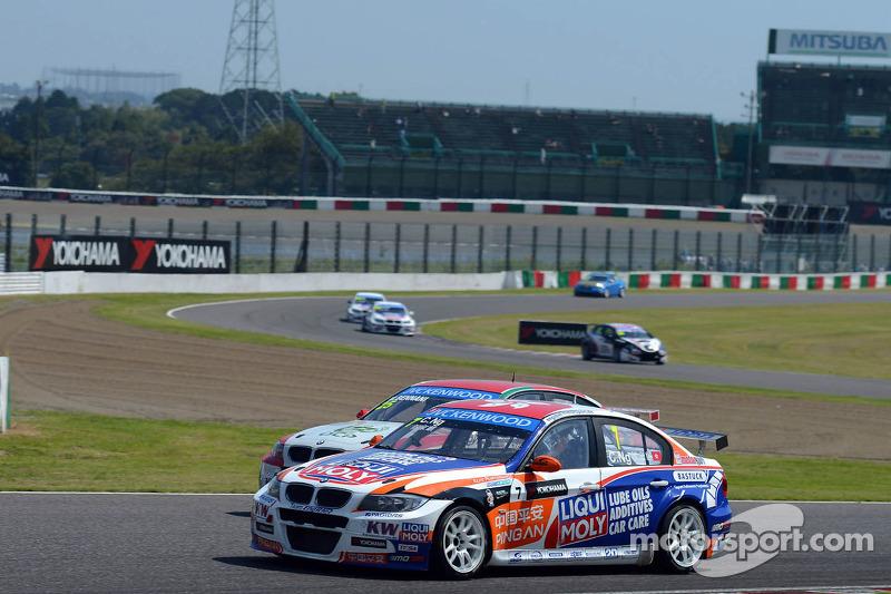 Charles Ng, BMW E90 320 TC, Liqui Moly Team Engstler en Mehdi Bennani, BMW E90 320 TC, Proteam Racing