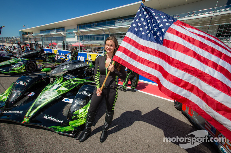 Een flag girl