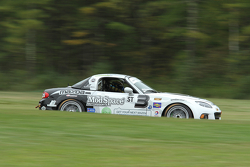 #3 CJ Wilson Racing Mazda MX-5: Chad McCumbee, Tyler McQuarrie
