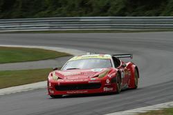 #61 R.Ferri/AIM Motorsport Racing with Ferrari Ferrari 458: Ken Wilden, Alex Tagliani