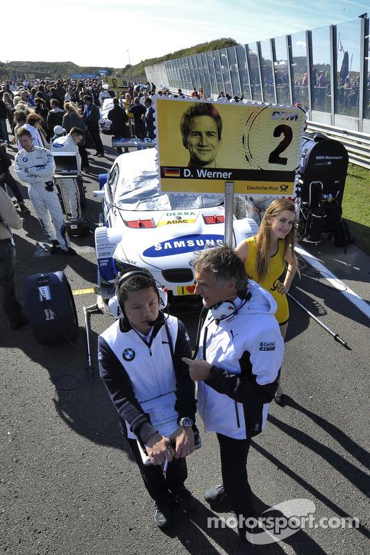 Charly Lamm, chefe de equipe da BMW Team Schnitzer
