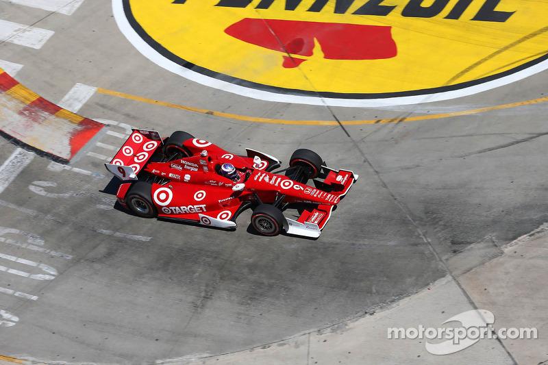 Scott Dixon Target Chip Ganassi Racing Honda At Houston