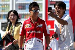 Kamui Kobayashi, Ferrari GT driver