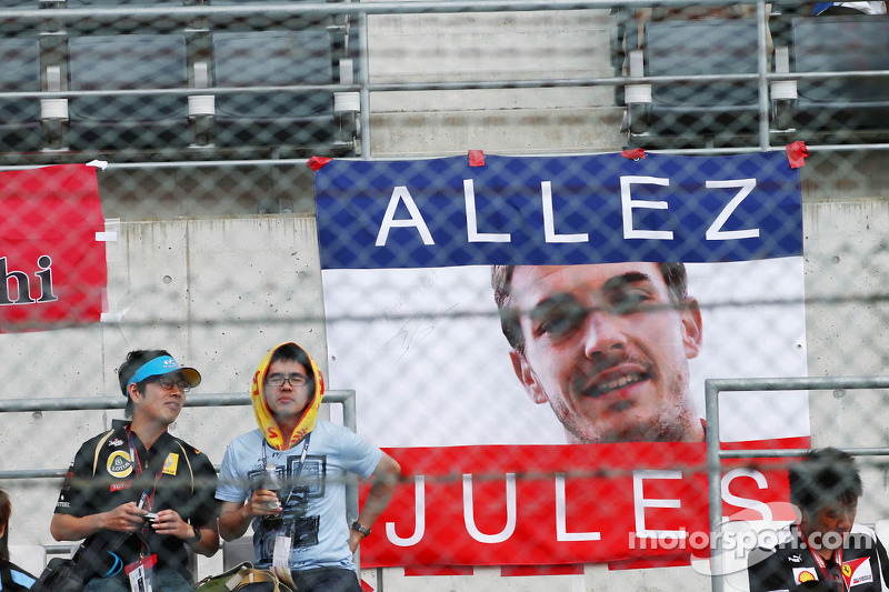 Banner for Jules Bianchi, Marussia F1 Team