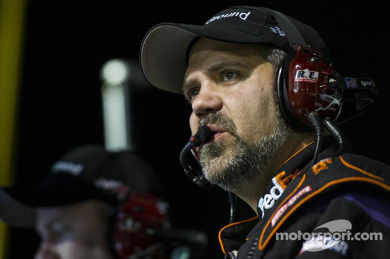 Darian Grubb, crew chief voor Denny Hamlin