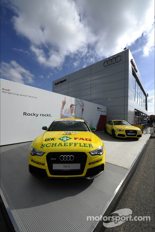 Mike Rockenfeller, Audi Sport Team Phoenix Racing, Champion wall Audi hospitality