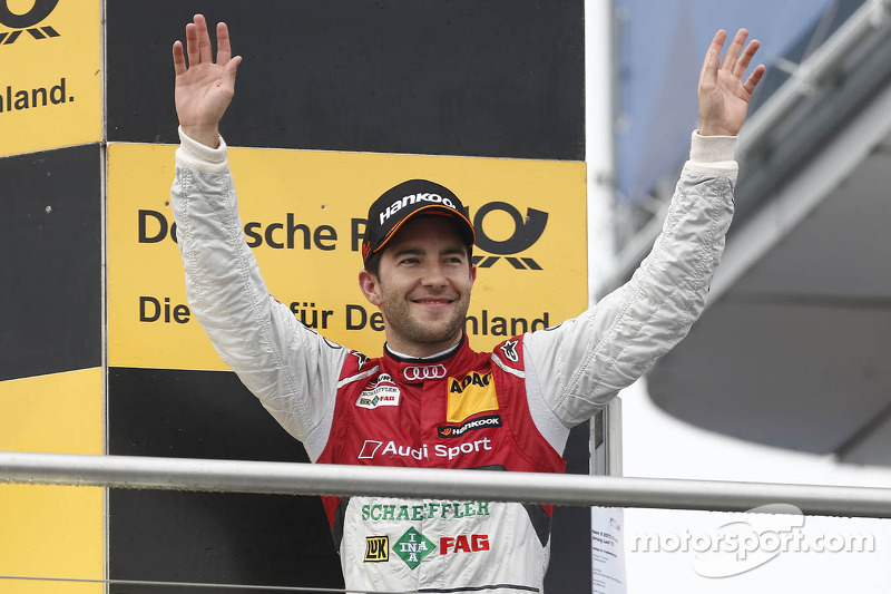 Kampioenspodium: 1e Mike Rockenfeller