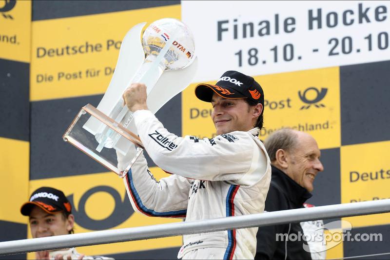 3e plaats in het kampioenschap voor Bruno Spengler, BMW Team Schnitzer, met trophy