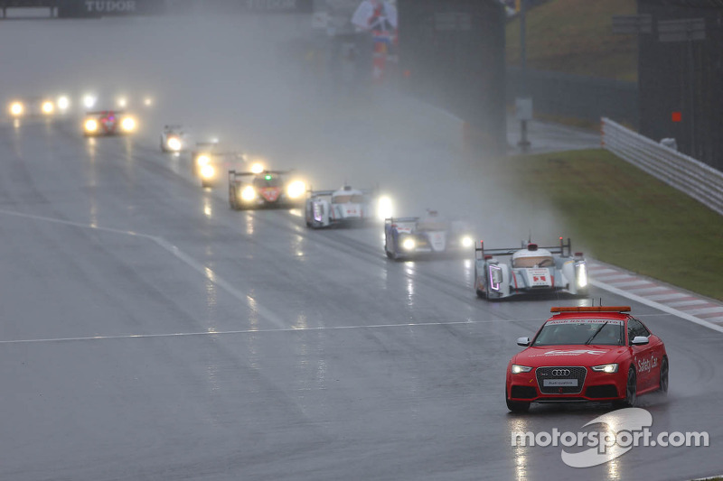 race onder de safety car