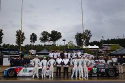 BMW Team RLL: Dirk Müller, John Edwards, Bill Auberlen, Maxime Martin, Jörg Mu_ller, Uwe Alzen com m