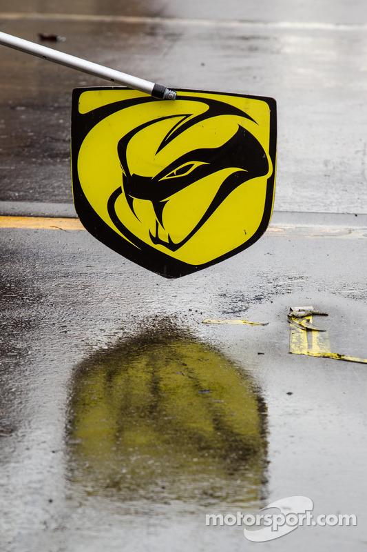 Placa da Lizard Motorsports voando