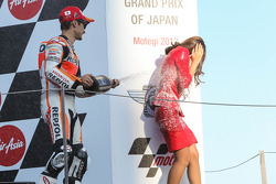 Third place Dani Pedrosa