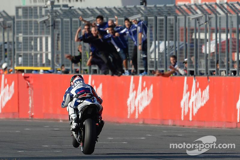 2013 winner Jorge Lorenzo, Yamaha Factory Racing