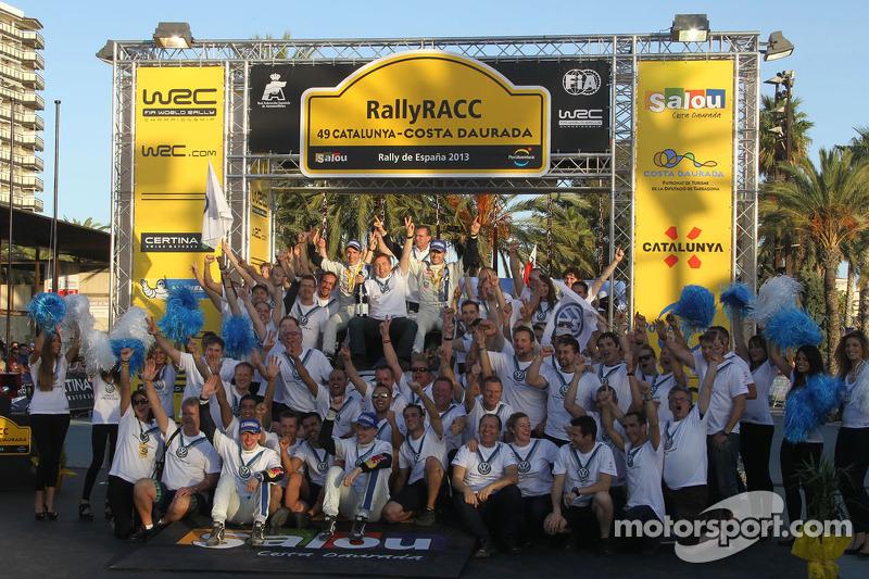 Volkswagen celebra el Campeonato del equipo