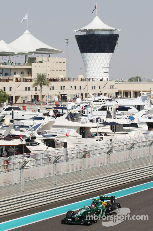 Heikki Kovalainen, Caterham CT03 Piloto Reserva