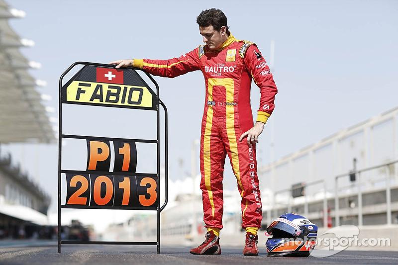 2013 kampioen Fabio Leimer