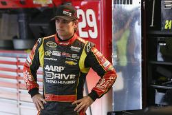 Jeff Gordon, Hendrick Motorsports Chevrolet in the garage area