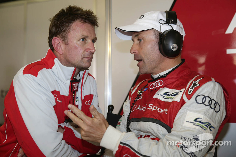 Allan McNish en Tom Kristensen
