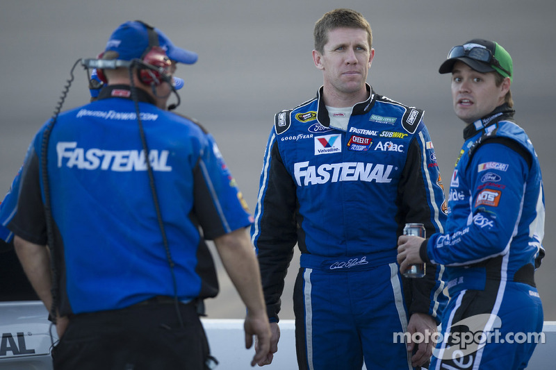 Carl Edwards en Ricky Stenhouse Jr.