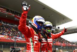 Felipe Massa and Marc Gene